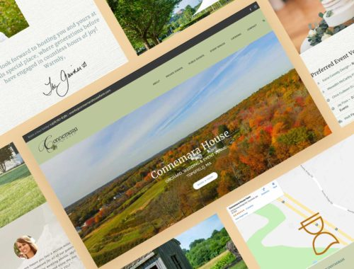 Beautiful new website for Connemara House Farm Topsfield Ma
